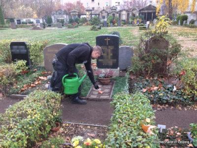 Praktikum auf dem Friedhof Gohlis