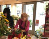 Praktikum Floristik zum Muttertag