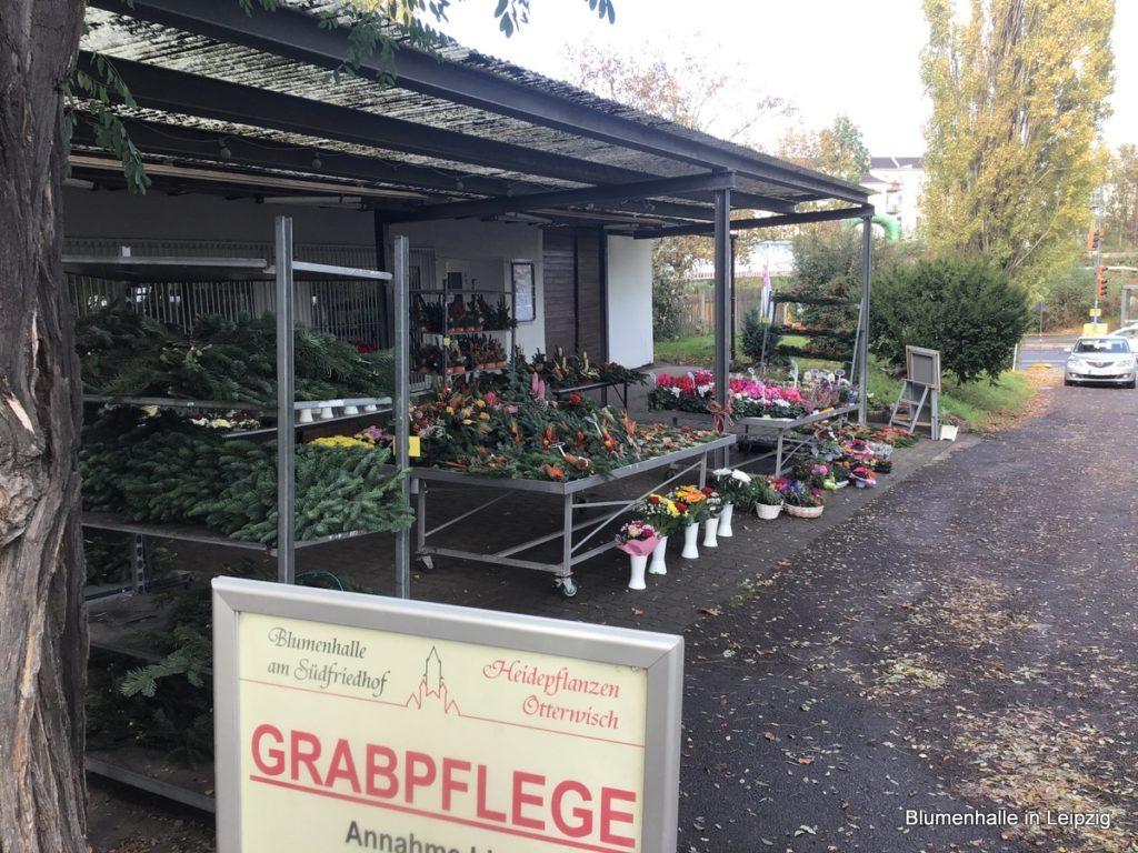 Blumenhalle am Ostfriedhof - Außenstelle