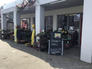 Hamsterkäufe erwünscht - Blumenhalle in Leipzig
